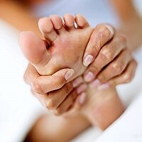 Массаж при усталости ног