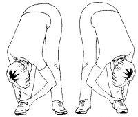 Разминка ног