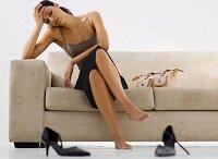 Как снять усталость с ног после работы?