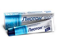 Лиотон 1000 гель: инструкция по применению, отзыв врача, цена, аналоги
